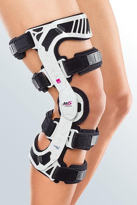 m.4s comfort knee brace white