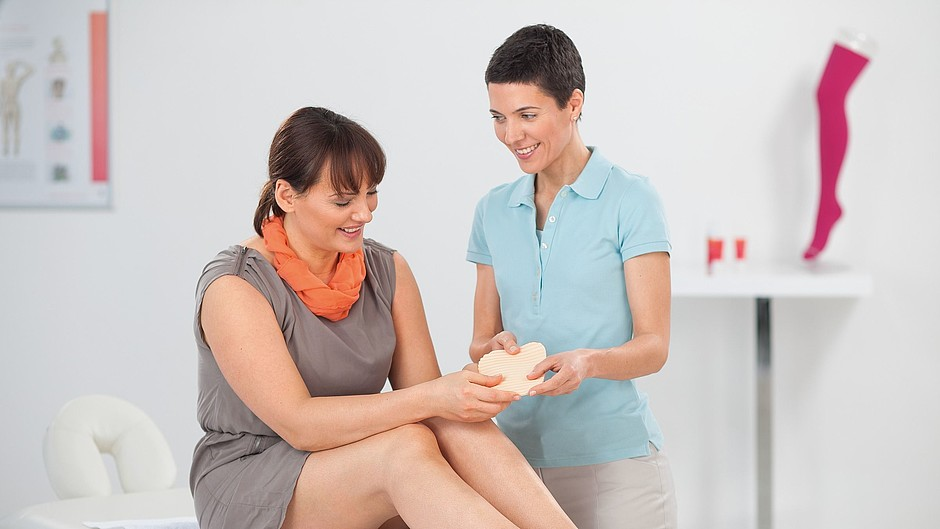 Medi lymph pads compression therapy edema