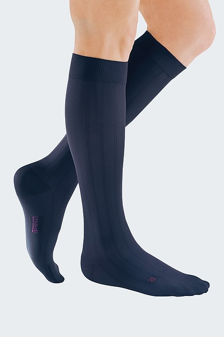 mediven for men compression stockings navy