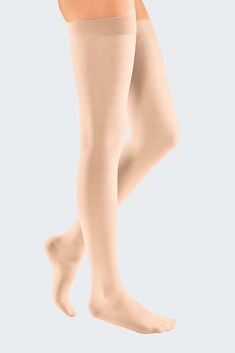 mediven elegance compression stockings veanous treatment rosé