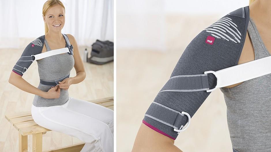 Omomed shoulder support woman