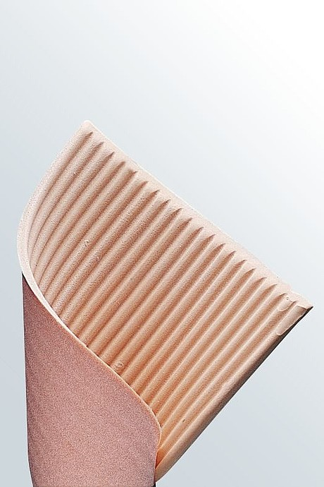 ribbed lymph pad medical