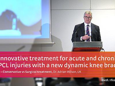 M.4s® PCL dynamic knee brace Dr. Adrian Wilson
