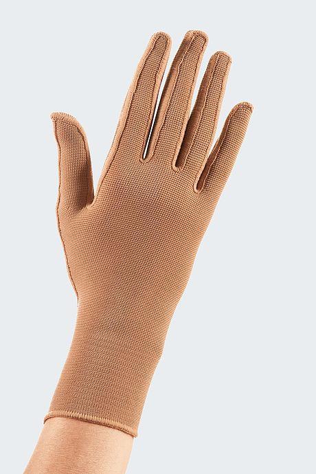 Flat knit glove