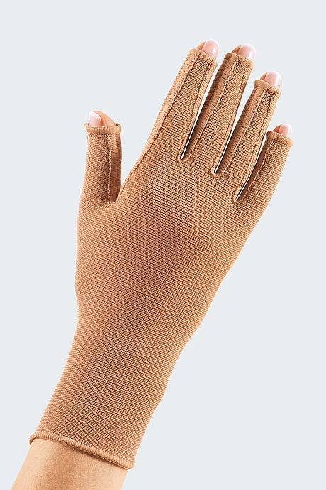mediven 550 glove with open fingers